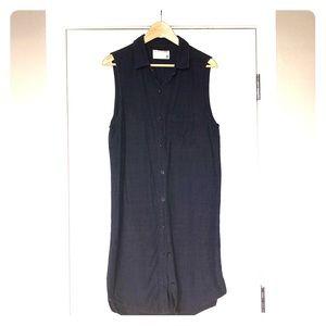 Rag & Bone Jean Chambray Button-Up Dress